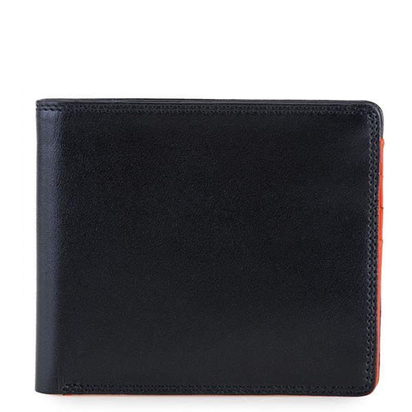 RFID Standard E/W Men's Wallet Black-Orange