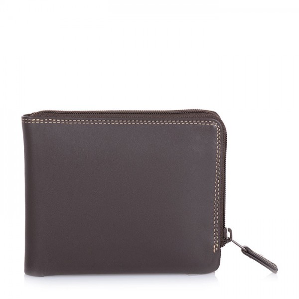 Zip Around Men's Wallet Safari Multi