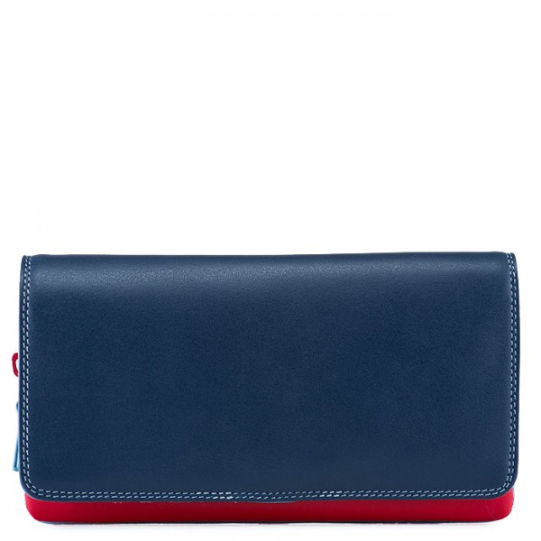 Flapover Wallet with Coin Section Royal