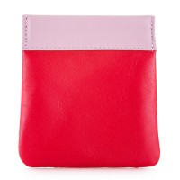 Snap Coin Pouch Ruby