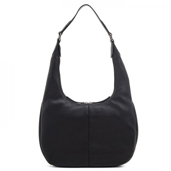 Bergamo Medium Shoulder Bag Black