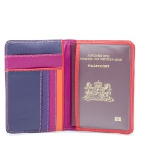 RFID Passport Cover Sangria Multi