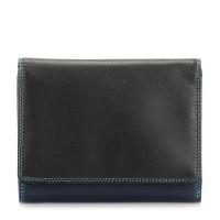 Medium Wallet w/Inner Leaf Black Pace