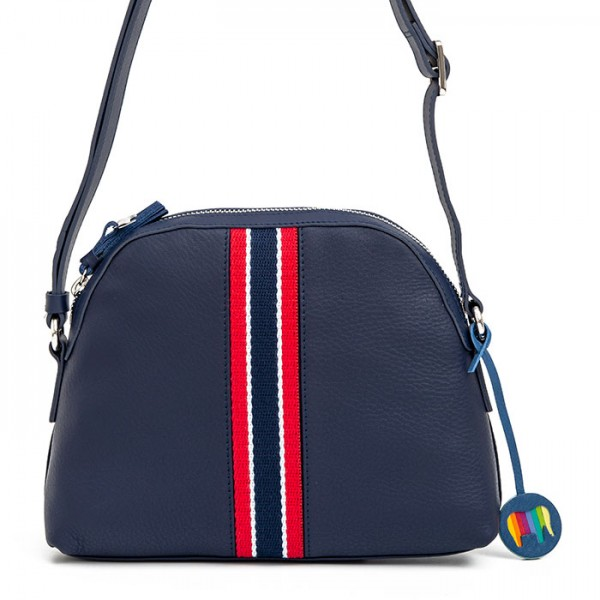 San Diego Crossbody Half Moon Bag Denim