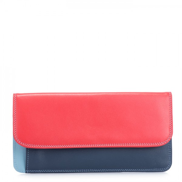Simple Flapover Purse/Wallet Royal