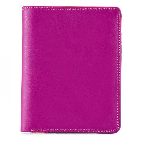 Medium Slim Wallet Sangria Multi