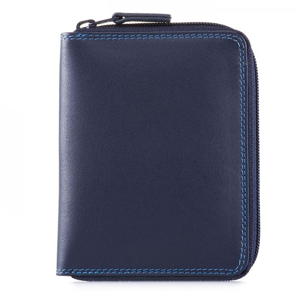 Men's Coin Tray Wallet Kingfisher