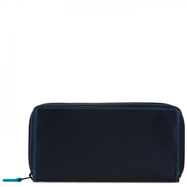 Zip Around Purse Black Pace