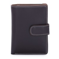 Medium Snap Wallet Mocha