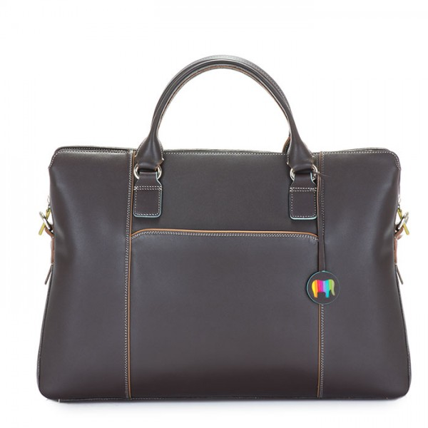 Business Briefcase Mocha