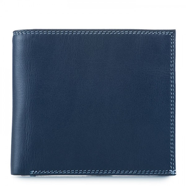 Classic Wallet w/Zip Section Royal
