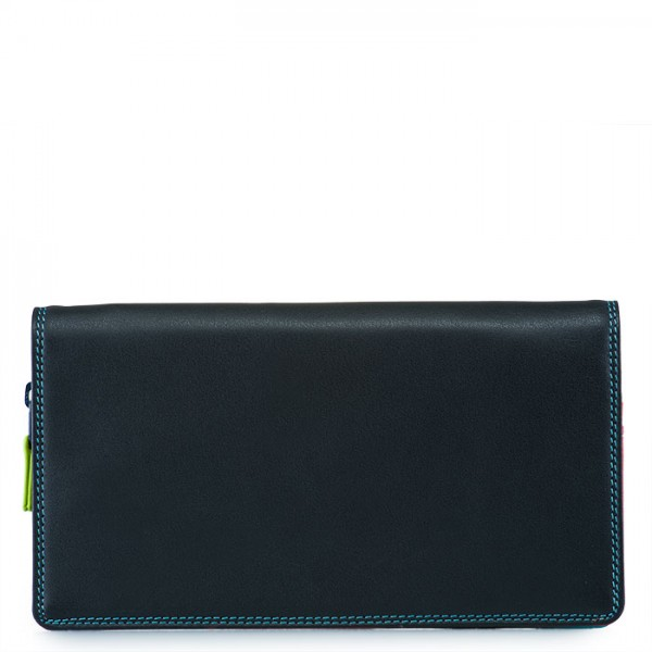 Large Wristlet Wallet Black Pace