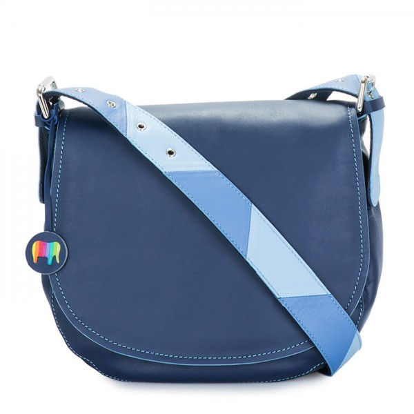 Riga Satchel Blue