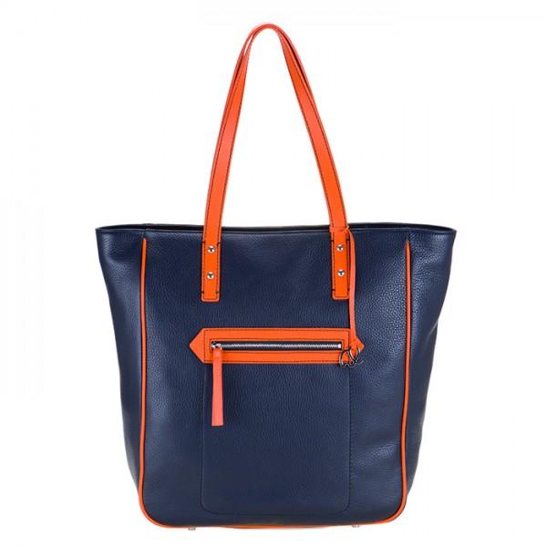 Shopper Lecce Blau