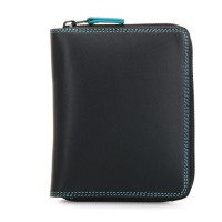 Zip Around CC Wallet Black Pace