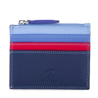 Credit Card Holder w/Zip Pocket Royal