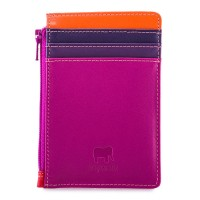 Credit Card Holder with Coin Purse Sangria Multi