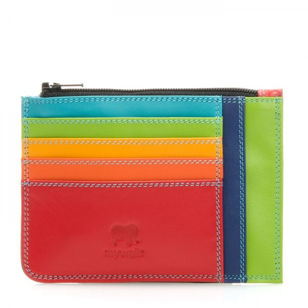 Slim Credit Card Holder with Coin Purse Black Pace