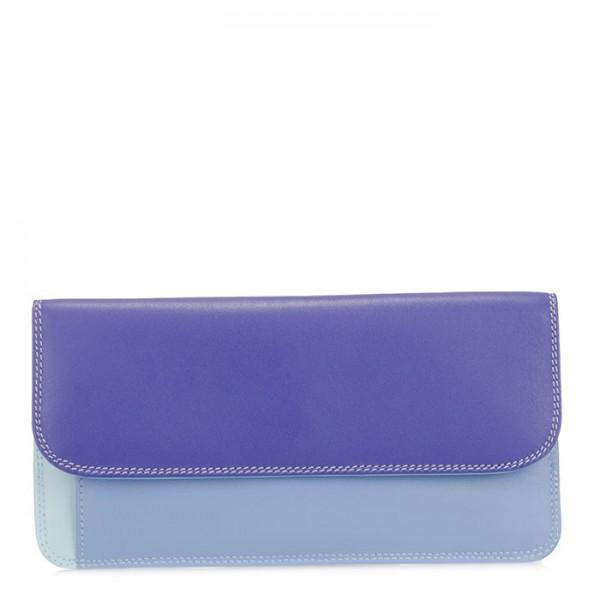 Simple Flapover Purse/Wallet Lavender
