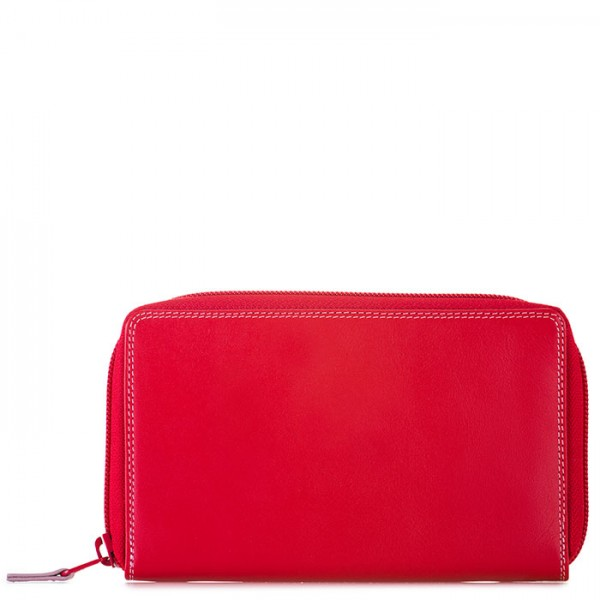 Zip Around Wallet w/Phone Pocket Ruby