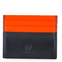 RFID Double Sided CC Holder Black-Orange