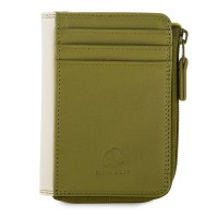 Small Zip Purse Olive