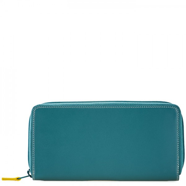 Zip Around Purse Mint