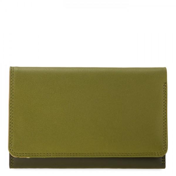Medium Tri-fold Wallet Olive