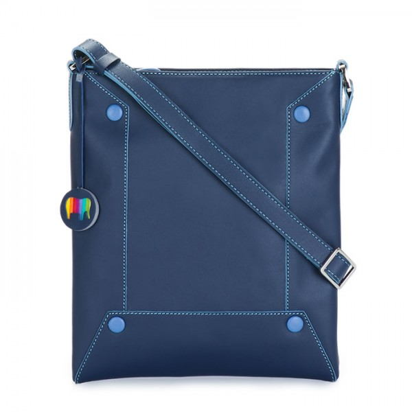 Madrid Small Crossbody Blue