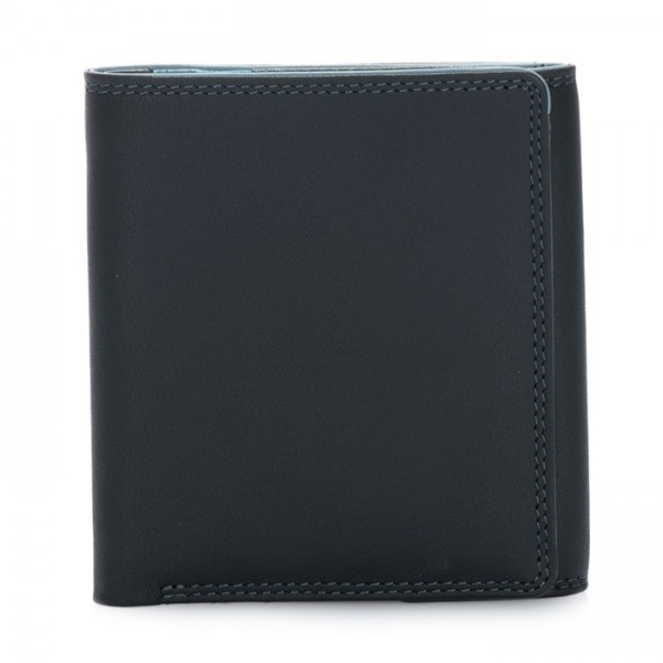 Classic Wallet w/Coin Tray Black Smokey Grey