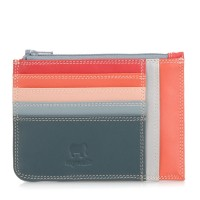Slim Credit Card Holder with Coin Purse Urban Sky