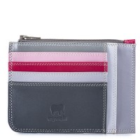 Slim Credit Card Holder with Coin Purse Storm