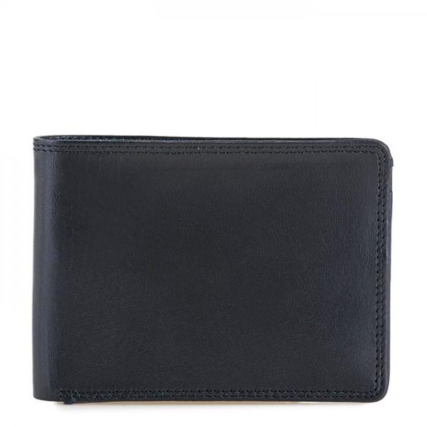 RFID Men's Jeans Wallet Black-Blue