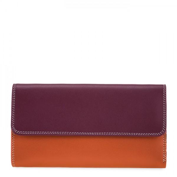 Tri-fold Zip Wallet Chianti