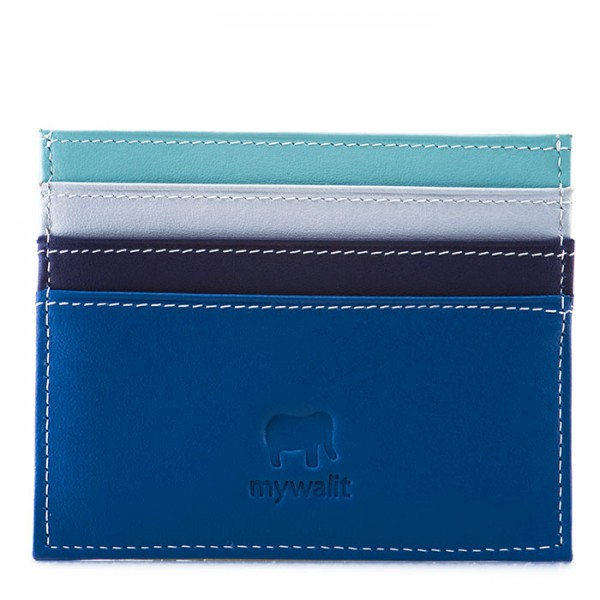 Double Sided Credit Card Holder Denim