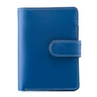 Medium Snap Wallet Denim