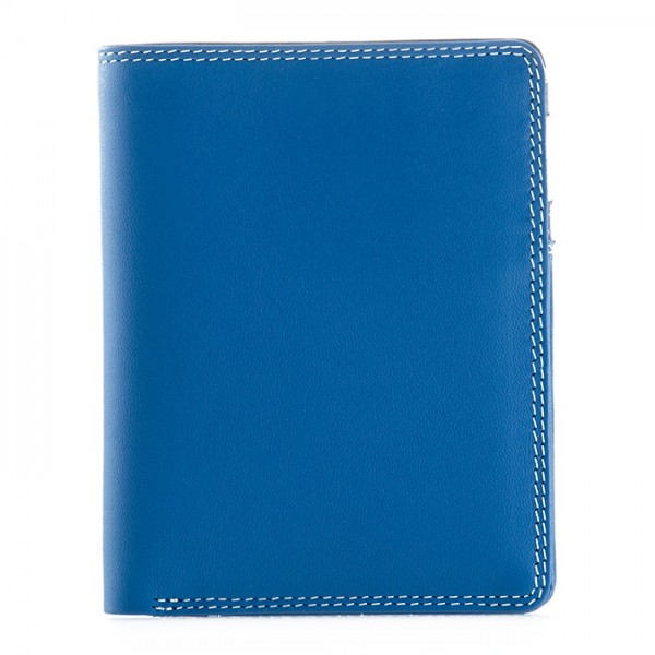 Medium Slim Wallet Denim