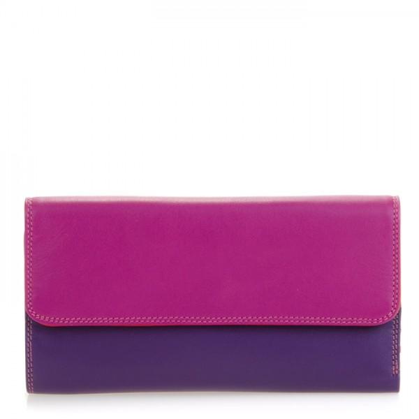 Tri-fold Zip Wallet Sangria Multi