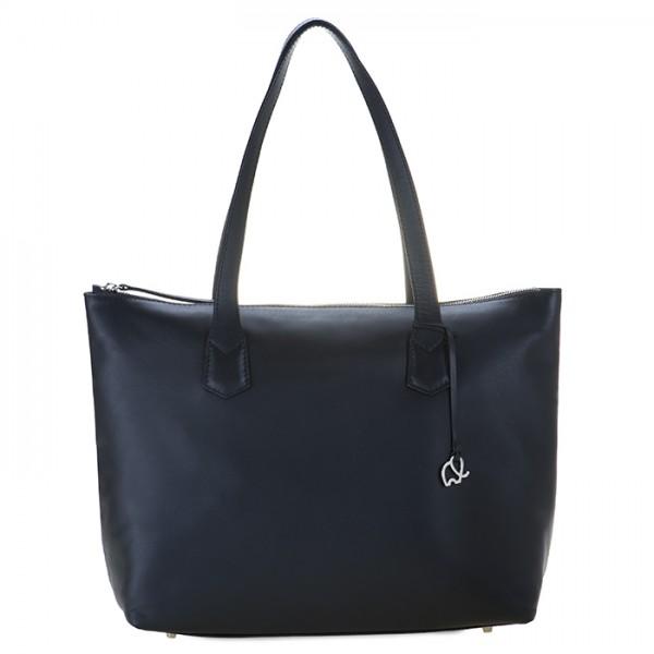Grand sac shopper Sorano Noir