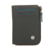 Panama Zip Wallet ID/Holder Smokey Grey