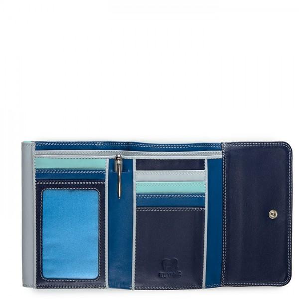 Double Flap Purse/Wallet Denim