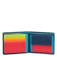 RFID Large Men's Wallet w/Britelite Black Pace