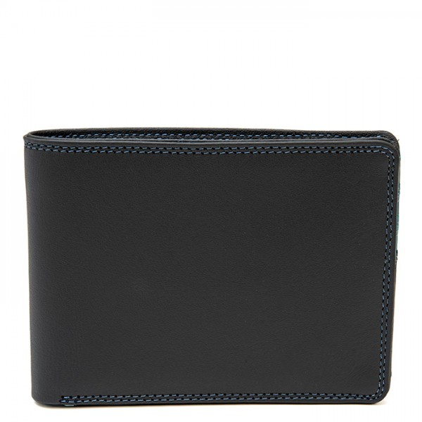 Men's Jeans Leather Wallet Smokey Grey
