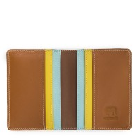 Credit Card Holder w/Plastic Inserts Mocha