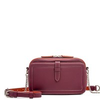 Small Leather Shoulder Bag Chianti
