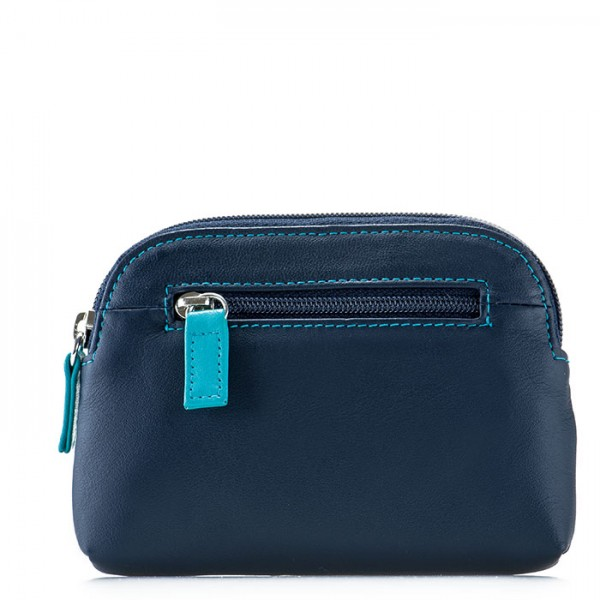 RFID Large Coin Purse Navy