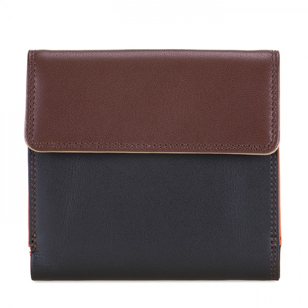Tab and Flap Wallet Cacao