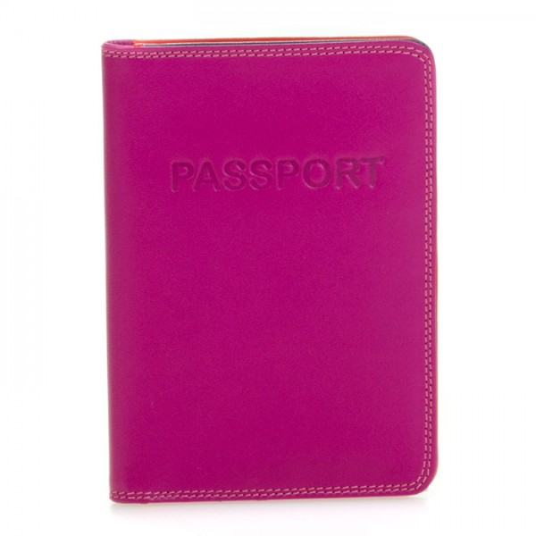 Passport Cover Sangria Multi
