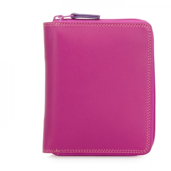 Zip Around CC Wallet Sangria Multi