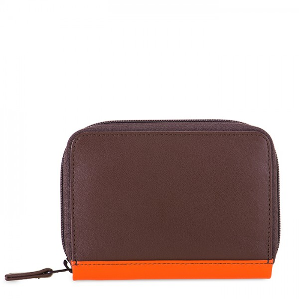 Zipped Credit Card Holder Cacao